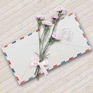 一封送给母亲的贺卡