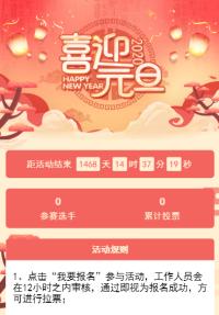 喜迎元旦 新春佳节Photo投�被疃�